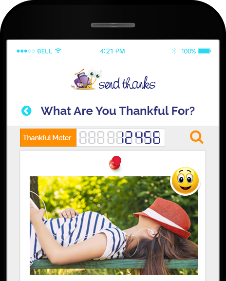 Have You Used Our #SendThanks Thankful Feed?